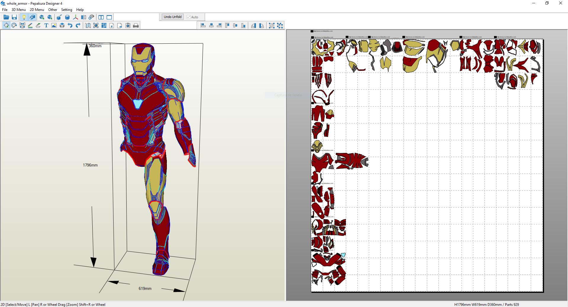Iron Man Mark 85 V1 - Projects - RW 3D Studios