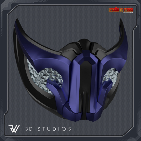 Sub Zero Mortal Kombat 11 Mask Projects Rw 3d Studios