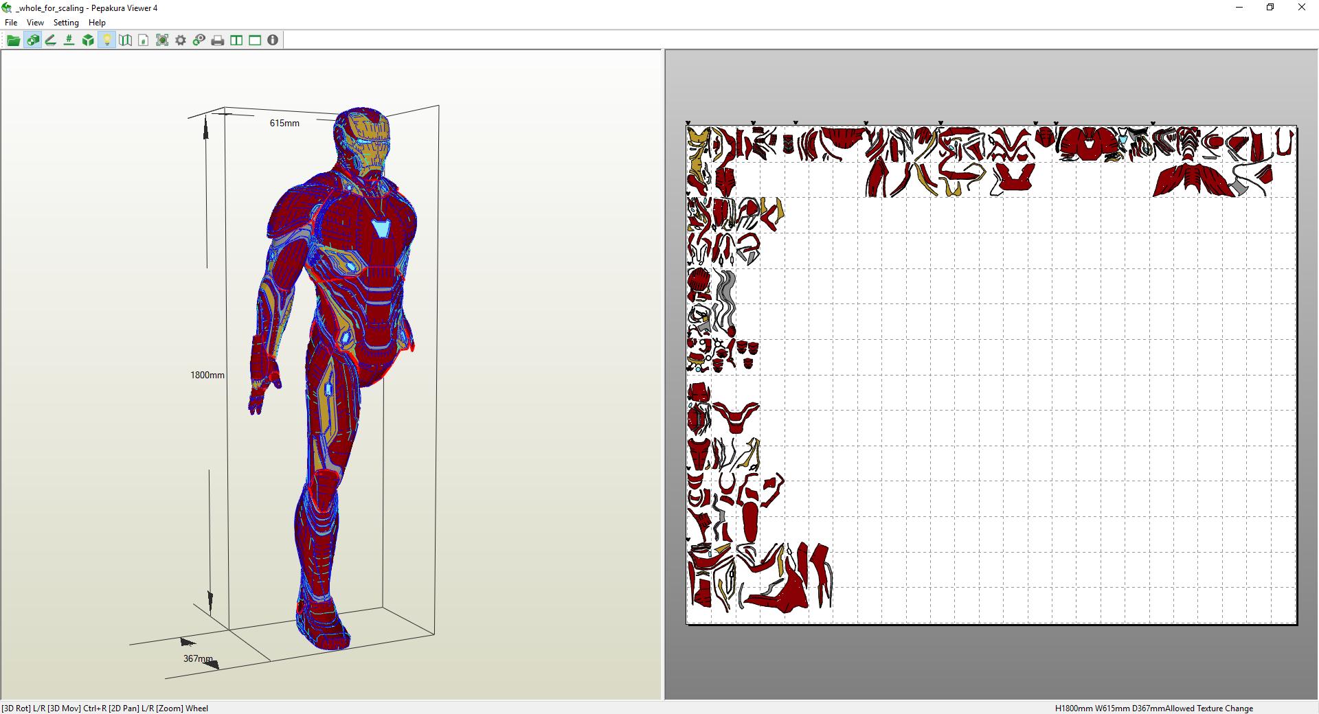 Homem De Ferro Guerra Infinita Projetos Rw 3d Studios
