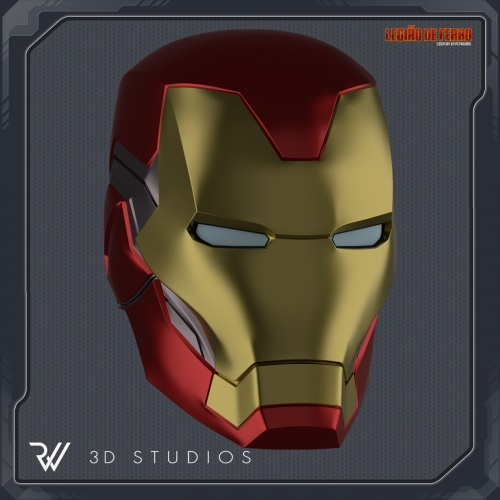 Helmet Iron Man Mark 85 V2